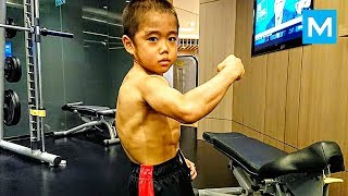 STRONGEST Kid - Ryusei Imai | Muscle Madness