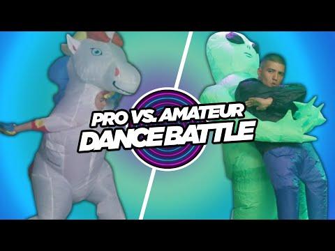 Pro Vs. Amateur Inflatable Costume Dance Contest • Part 2