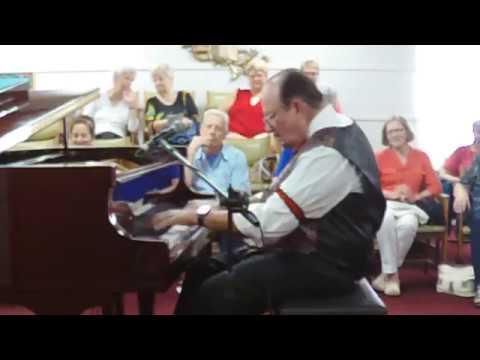 "Radeck plays ""Carolina Shout""-James P Johnson"
