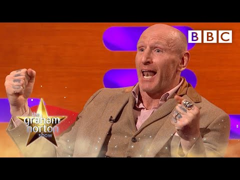 Gareth Thomas on the support he got in his first Iron Man triathlon  | The Graham Norton Show - BBC