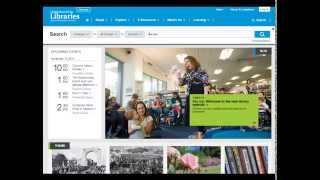 preview picture of video 'Introduction to Christchurch City Libraries Website'