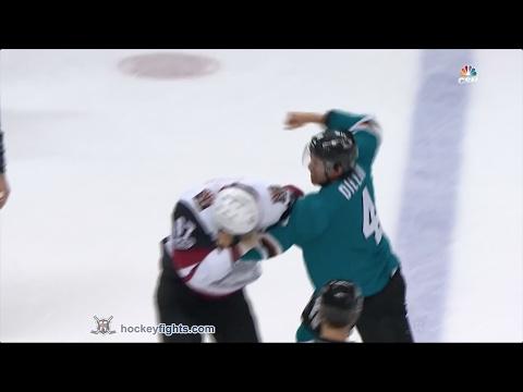 Lawson Crouse vs Brenden Dillon