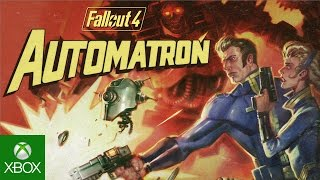Fallout 4 – Wasteland Automatron Add-On-Trailer