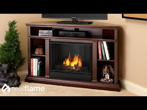Real Flame - Churchill Electric Entertainment Mantel