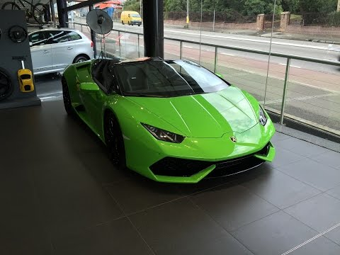 Lamborghini Huracan Spyder Preview