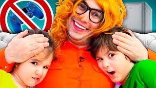 У Нас НОВАЯ НЯНЯ!  Такого Камиль и Амина НЕ ОЖИДАЛИ! Веселая история для детей for kids children