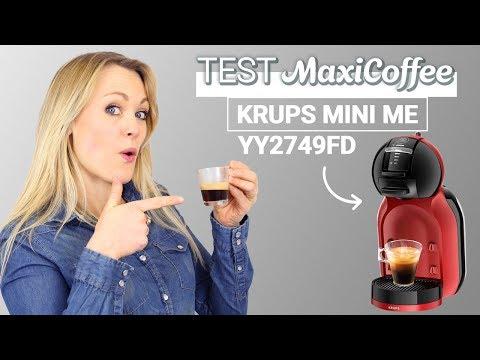DOLCE GUSTO MINI ME NESCAFE | Machine à capsule Krups | Le Test MaxiCoffee