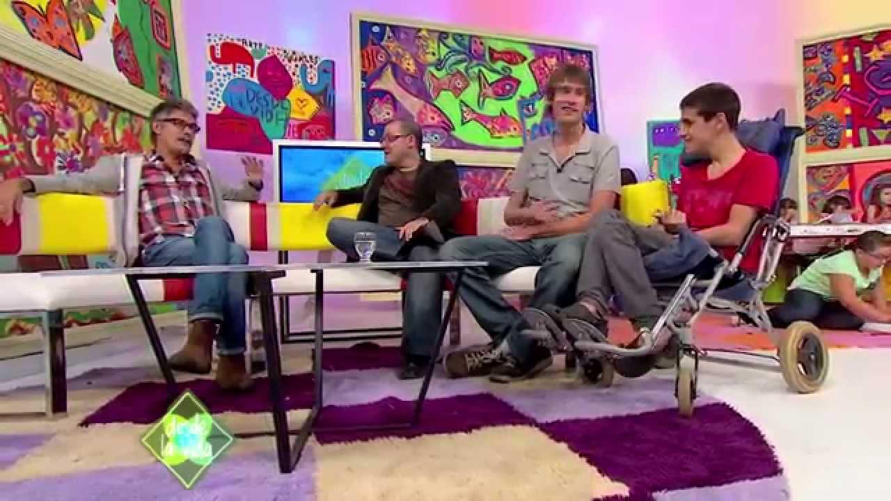 """Programa """"Desde la vida"""" en la Tv Pública, Gabriel Federico, Ralf Niedenthal y Matias Federico"""