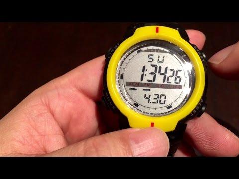 $5 Waterproof Fashion Men's LCD Digital Stopwatch Date Rubber Sport Wrist Watch by HeroNeo