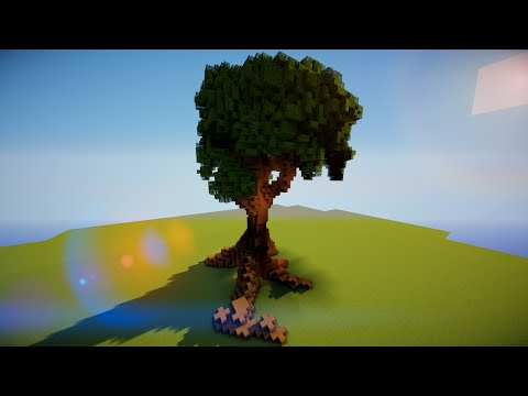 Giant Tree in 6 Minutes [World Edit] Minecraft Project