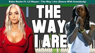 The Way I Are (Dance With Somebody) Piano Tutorial - Free Sheet Music (Bebe Rexha Ft. Lil Wayne)