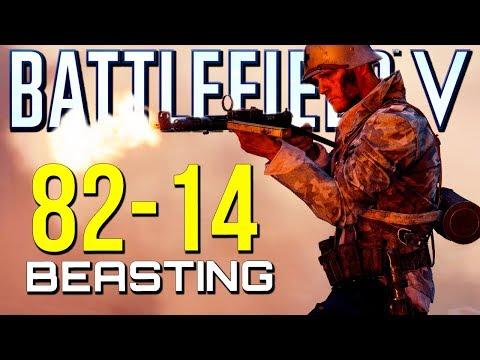 Battlefield 5: 82-14 Tough Game! (Battlefield V Multiplayer Gameplay)