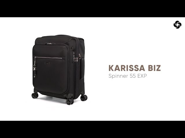 Karissa Biz Spinner Expandable (4 wheels) 55cm video 1