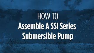 Franklin Electric Build Centers - SSI Series Submersible Pump Assembly