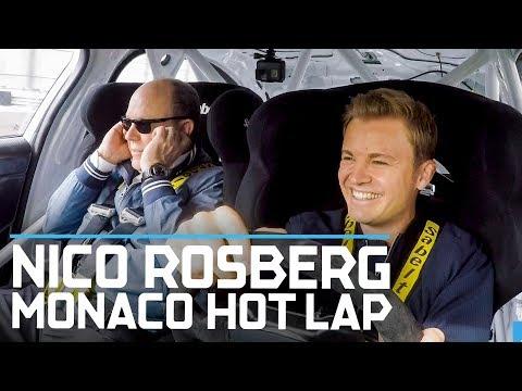 Nico Rosberg Takes Prince Albert For A Monaco Hot Lap | ABB FIA Formula E Championship