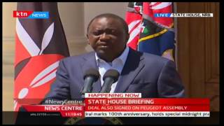 President Uhuru Kenyatta signs deal with Peugeot Assembly as he unveils industrialisation strategy