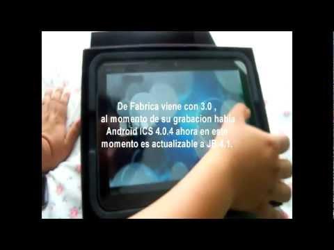 Unboxing Motorola Xoom MZ604