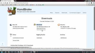 How to download and install Handbrake for free