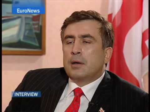 EuroNews - Entrevista - Mijail Saakashvili