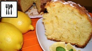 Лимонный КЕКС Самый простой КЕКС к чаю. Очень легко и быстро Limonlu Kek