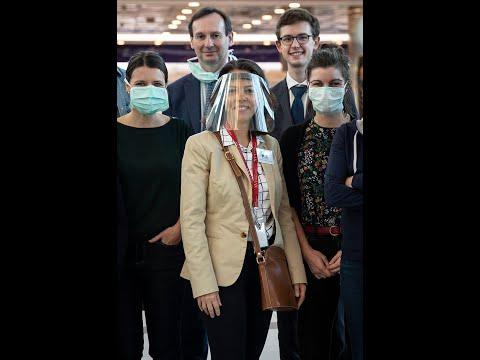 COVID19-Francia lideró vuelo con destino a París, palabras de la Embajadora Claudia Scherer-Effosse
