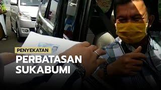 Cegah Kendaraan Masuk ke Jabodetabek, Polres Bogor Lakukan Penyekatan