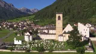 preview picture of video 'Kloster St. Johann Müstair Bergsommer 2014 by Mountain Motion Pictures'