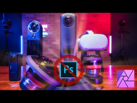 CHEAPEST & BEST 360° Photo Editing App in 2021 - Affinity Photo Tutorial for Virtual Tour Pros