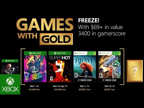 Xbox Games With Gold February 2020.Xbox Games With Gold March 2018 Confirmed Free Games