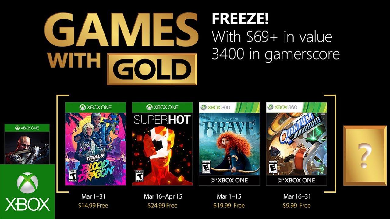 Juegos Gratis Para Xbox One Y 360 En Marzo De 2018 Con Gold