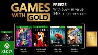 Games With Gold di marzo