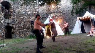 Video Magický úplněk se skupinou historického šermu Albion Na Cornštej