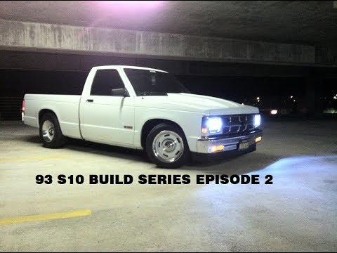 93 S10 BUILD SERIES EPISODE 2 (PAINT AND WHEELS)
