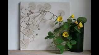 БУКЕТ ЦВЕТОВ из ГИПСА.Коллекция плитки|Bouquets of flowers from GIPSA.Kollektsiya tiles