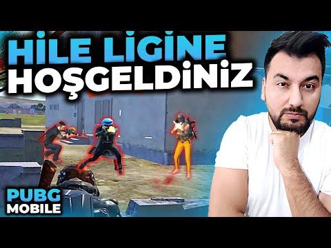 HİLE LİGİNE HOŞGELDİNİZ / PUBG MOBILE