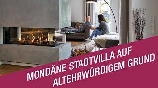 Die Bauherren Frank und Sandra Notzem haben sich ihren individuellen Wohntraum realisiert. Gemeinsam mit Kern-Haus entstand eine auf ihre Wünsche und Vorstellungen angepasste Stadtvilla Karat auf dem ehemaligen Areal des Bökelbergstadions in Mönchengladbach.