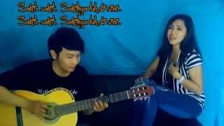 Video (Cita Citata) Sakitnya Tuh Disini - Nathan Fingerstyle & Yantie Julian [cover]