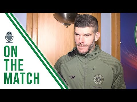 Fraser Forster on the Match | Rangers 0-1 Celtic | CELTIC WIN 10TH TROPHY IN A ROW!
