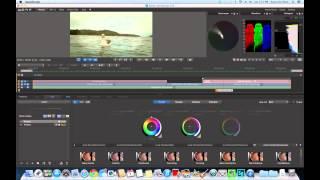 Adobe Speedgrade CS6 Basics #4: Grading A Transition