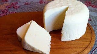 Домашний Сыр из Молока (Очень Вкусный) / Cottage Cheese From Milk / Простой Пошаговый Рецепт