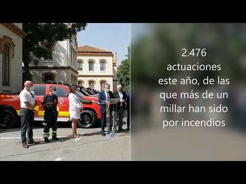 El Consorcio de Bomberos invierte dos millones de euros en 25 nuevos vehículos