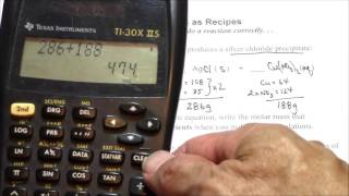 Chemical Equations as Recipes