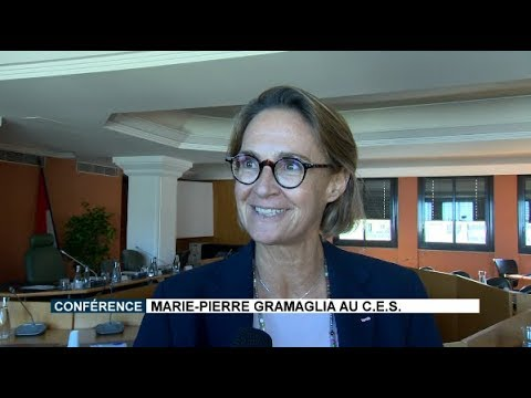 Play video Lecture: Marie-Pierre Gramaglia at the CES