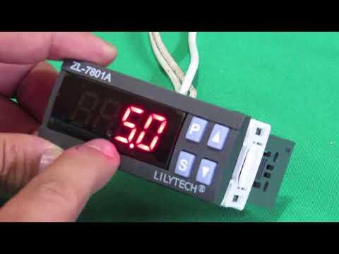 controlador humedad, temperatura y volteo, lilytech ZL-7801A Incubadora, terrario