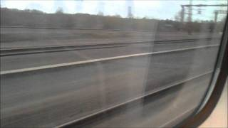 preview picture of video 'Virgin trains Pendolino Class 390 journey London Euston to Birmingham New Street West Coast Mainline'