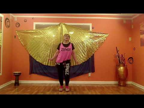 Zumba  fitness belly dance