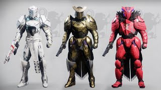 Destiny 2 Titan Fashion Sets
