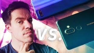 Nokia 7 Plus vs Huawei Honor 10 - Midrange stand-off