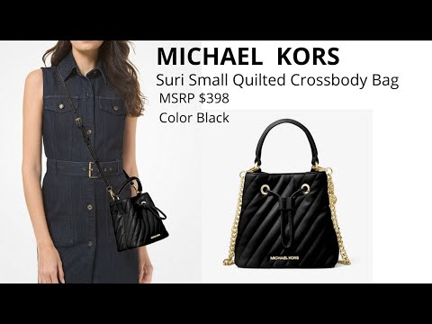 MICHAEL KORS Suri Small Quilted Crossbody bag (Unboxing)