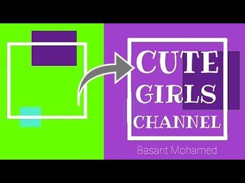 Girly Intro Green Screen    CUTE GIRLS..